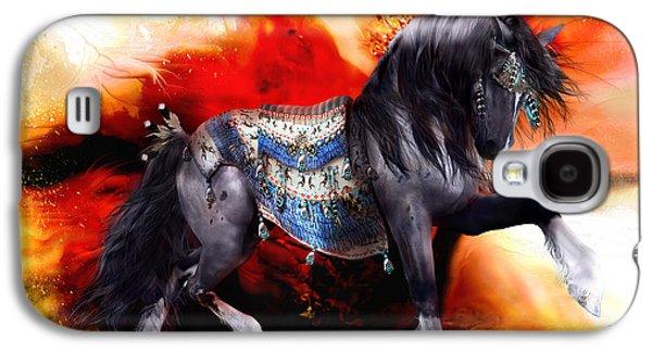 Kachina Hopi Spirit Horse  Galaxy S4 Case