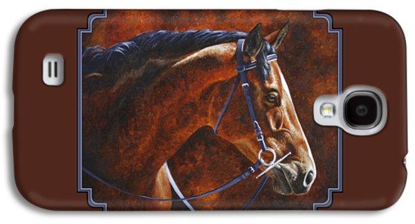 Horse Painting - Ziggy Galaxy S4 Case