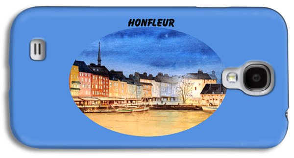 Honfleur  Evening Lights Galaxy S4 Case by Bill Holkham