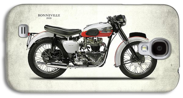 Triumph Bonneville 1959 Galaxy S4 Case by Mark Rogan