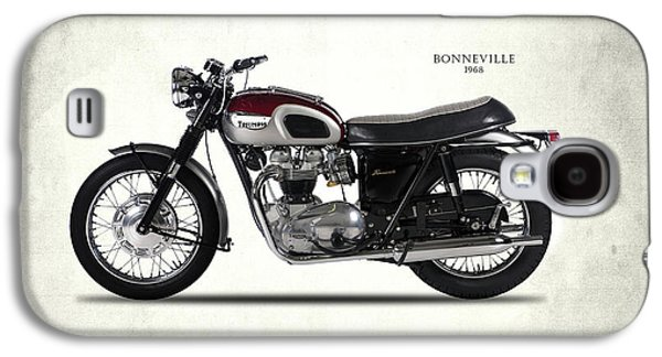Triumph Bonneville 1968 Galaxy S4 Case by Mark Rogan