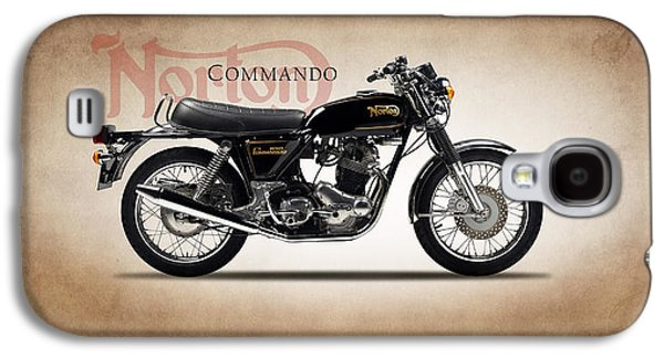 Norton Commando 1974 Galaxy S4 Case by Mark Rogan