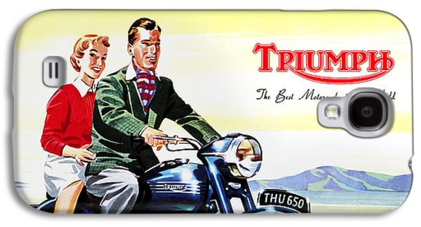 Triumph 1953 Galaxy S4 Case by Mark Rogan