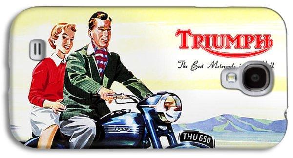 Triumph 1953 Galaxy S4 Case by Mark Rogan