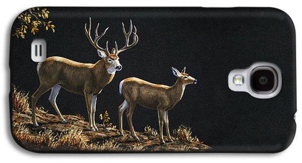 Mule Deer Ridge Galaxy S4 Case by Crista Forest
