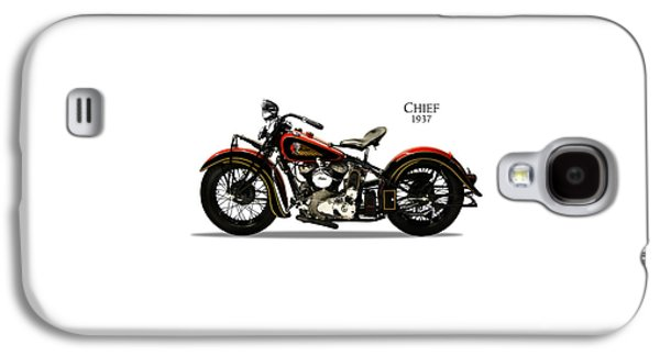 Indian Chief 1937 Galaxy S4 Case by Mark Rogan