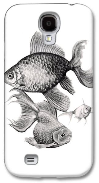 Goldfish Galaxy S4 Case by Sarah Batalka