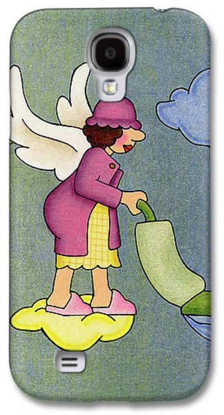 Heavenly Housekeeper Galaxy S4 Case by Sarah Batalka