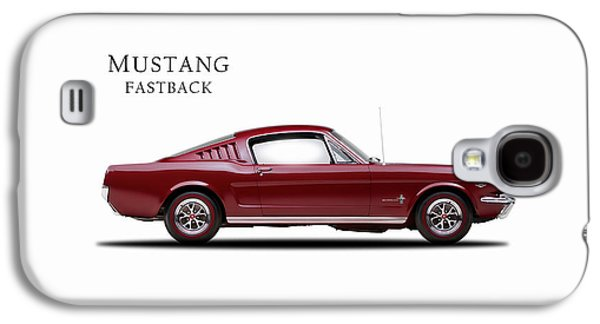 Ford Mustang Fastback 1965 Galaxy S4 Case by Mark Rogan