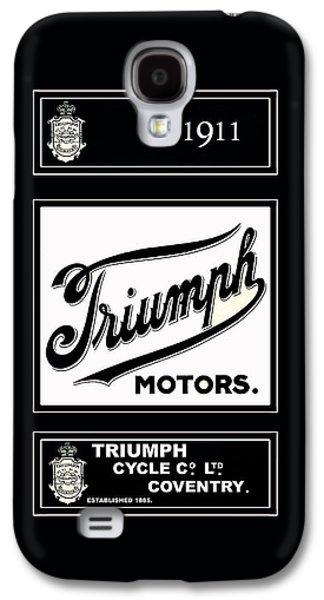 Triumph 1911 Galaxy S4 Case by Mark Rogan