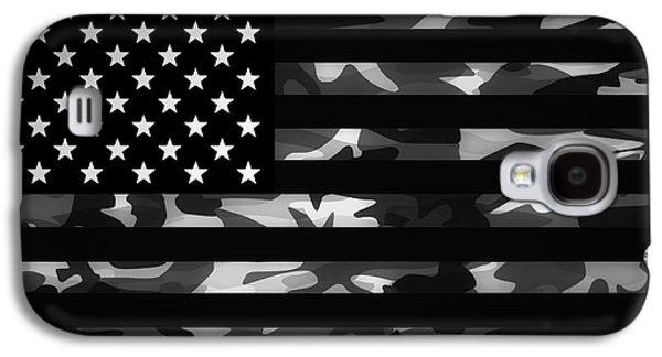 American Camouflage Galaxy S4 Case by Nicklas Gustafsson