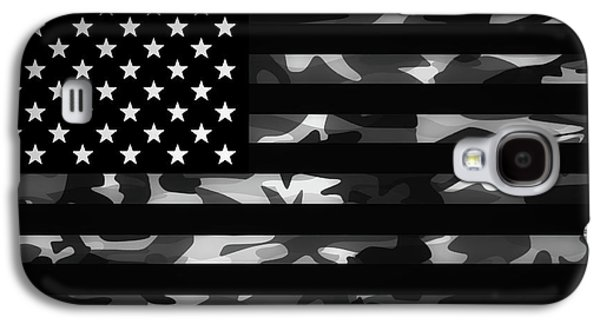 American Camouflage Galaxy S4 Case by Nicklas Gustafsson