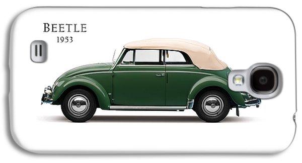 Beetle Galaxy S4 Case - Vw Beetle 1953 by Mark Rogan