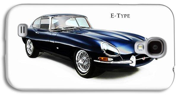 E Type Jaguar Galaxy S4 Case by Mark Rogan