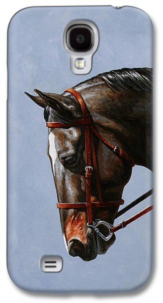 Horse Painting - Discipline Galaxy S4 Case
