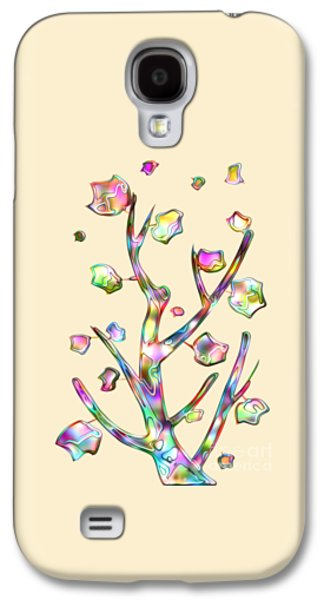 Rainbow Tree Galaxy S4 Case