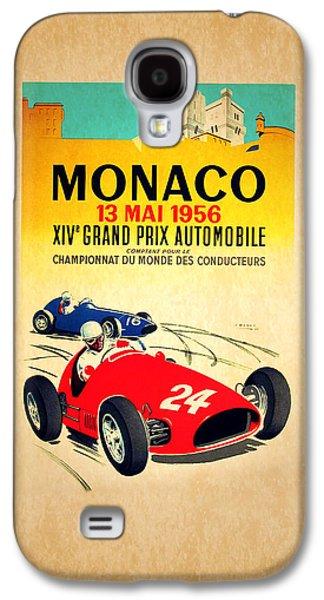 Monaco 1956 Galaxy S4 Case by Mark Rogan