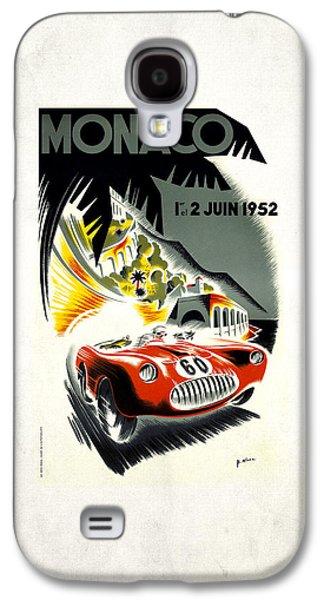Monaco 1952 Galaxy S4 Case by Mark Rogan