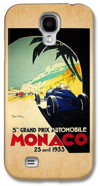 Monaco 1933 Galaxy S4 Case by Mark Rogan