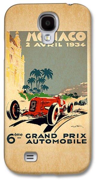 Monaco 1934 Galaxy S4 Case by Mark Rogan