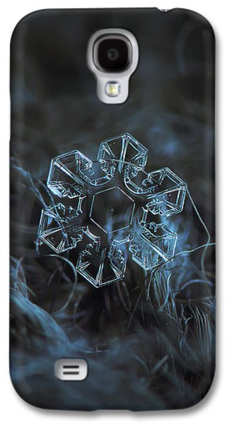 Snowflake Photo - The Core Galaxy S4 Case