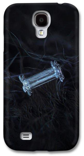Snowflake Photo - Capped Column Galaxy S4 Case