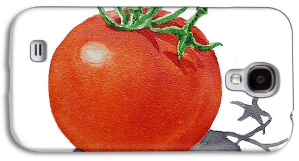 Harvest Art Galaxy S4 Cases - ArtZ Vitamins Tomato Galaxy S4 Case by Irina Sztukowski