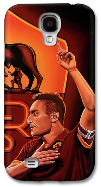 As Roma Painting Galaxy S4 Case by Paul Meijering