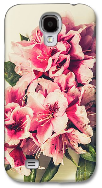 Asian Floral Rhododendron Flowers Galaxy S4 Case by Jorgo Photography - Wall Art Gallery
