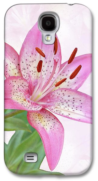Asiatic Lily Trogon Galaxy S4 Case