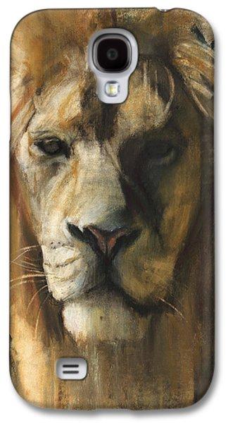 Asiatic Lion Galaxy S4 Case by Mark Adlington