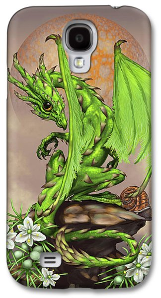 Asparagus Dragon Galaxy S4 Case by Stanley Morrison