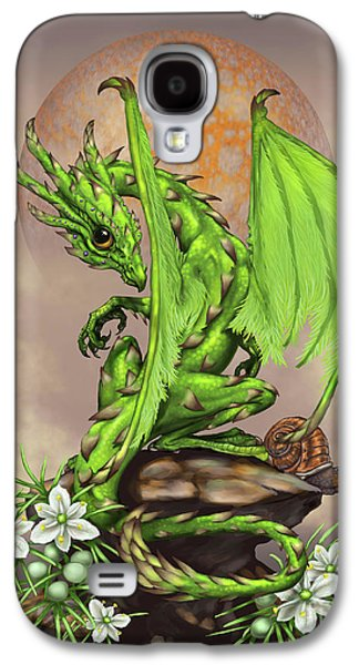 Asparagus Dragon Galaxy S4 Case