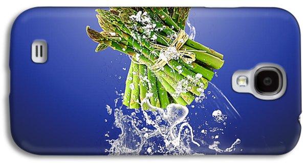 Asparagus Splash Galaxy S4 Case
