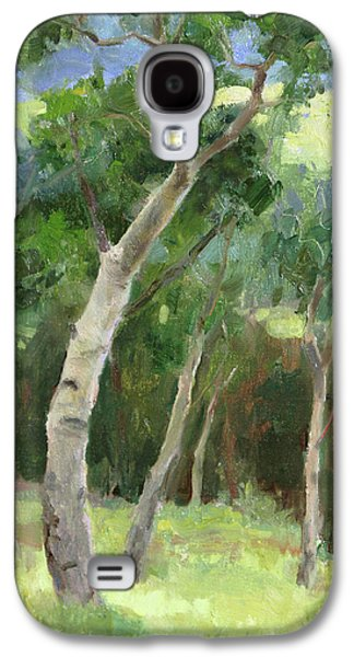 Aspen Grove I Galaxy S4 Case by Anna Rose Bain