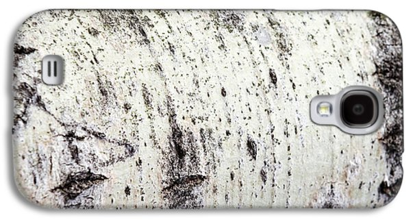 Galaxy S4 Case featuring the photograph Aspen Tree Bark by Christina Rollo