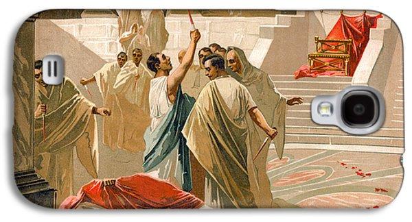 Assassination Of Julius Caesar Galaxy S4 Case