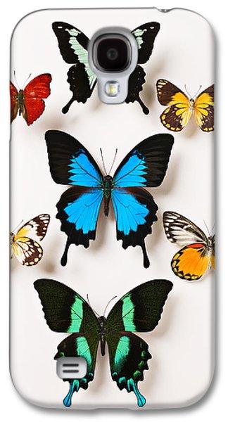 Assorted Butterflies Galaxy S4 Case by Garry Gay