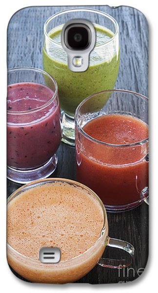 Assorted Smoothies Galaxy S4 Case by Elena Elisseeva
