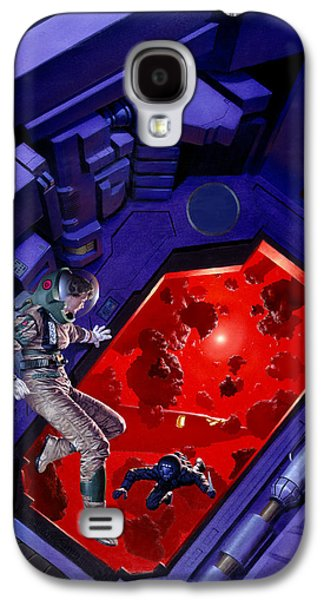 Asteroids  Galaxy S4 Case by Richard Hescox
