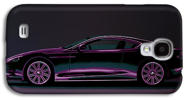 Aston Martin Dbs V12 2007 Painting Galaxy S4 Case by Paul Meijering