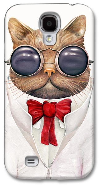 Astro Cat Galaxy S4 Case by Animal Crew