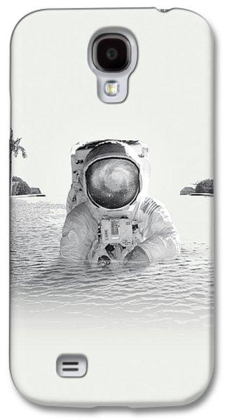 Astronaut Galaxy S4 Case by Fran Rodriguez