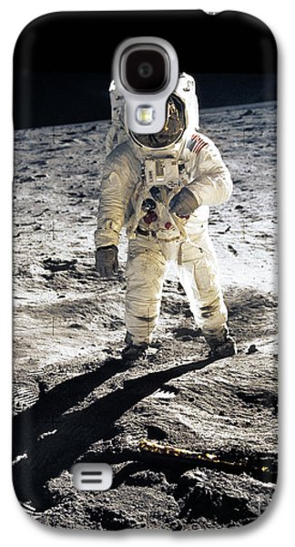 Astronaut Galaxy S4 Case by Photo Researchers