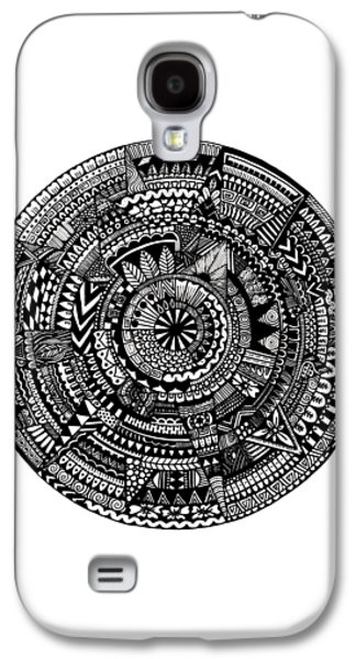 Asymmetry Galaxy S4 Case by Elizabeth Davis