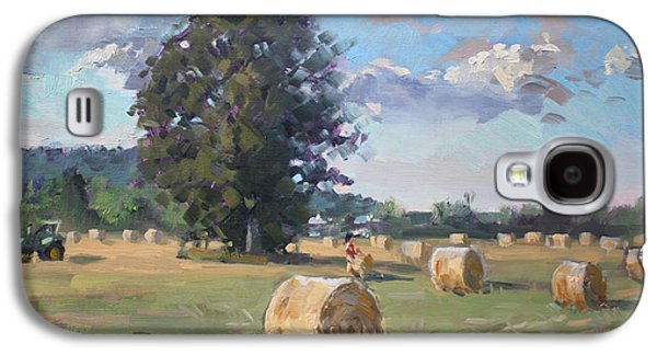 Tractors Galaxy S4 Case - At Cathy's Farm Georgetown by Ylli Haruni
