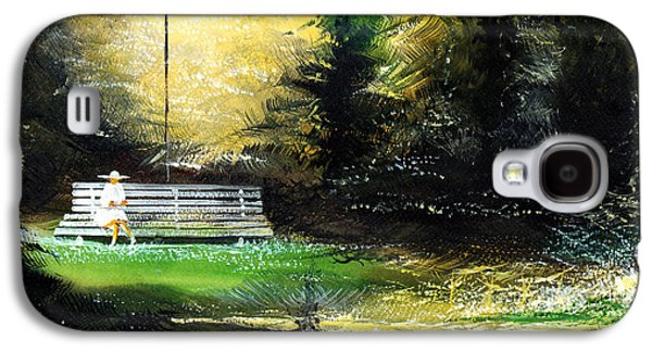 At Peace Galaxy S4 Case by Anil Nene