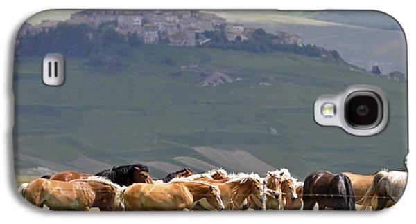 Castelluccio Di Norcia, Parko Nazionale Dei Monti Sibillini, Italy Galaxy S4 Case