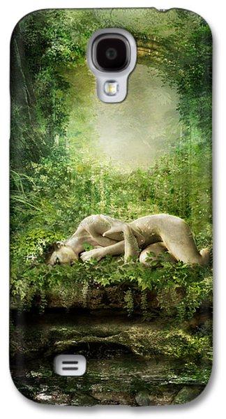 Elf Galaxy S4 Case - At Sleep by Karen Koski