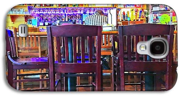 At The Bar Galaxy S4 Case by Susan Leggett